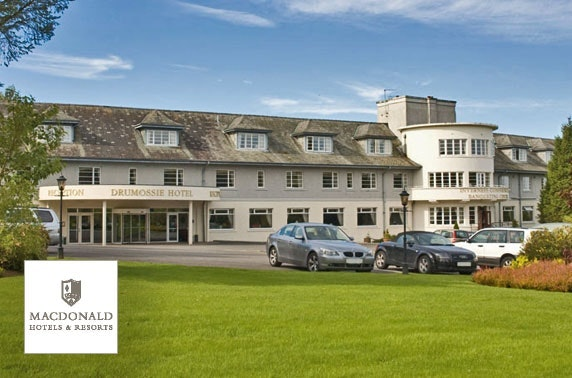 Valentine's dinner & BB at 4* Macdonald Drumossie Hotel