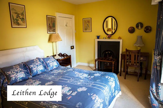 Leithen Lodge break - from less than £19pppn