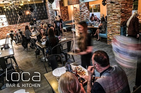 Dinner & drinks at brand new Loca Bar & Kitchen