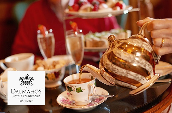 Afternoon tea, 4* Dalmahoy Hotel