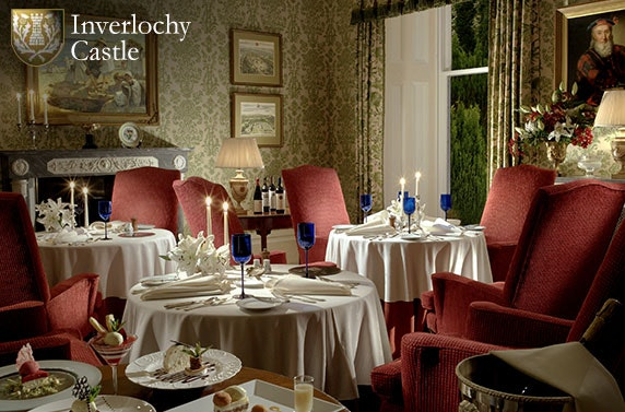 Romantic stay at award-winning 5* Inverlochy Castle