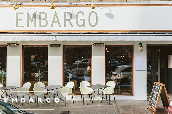 Embargo weekend brunch & drinks, West End