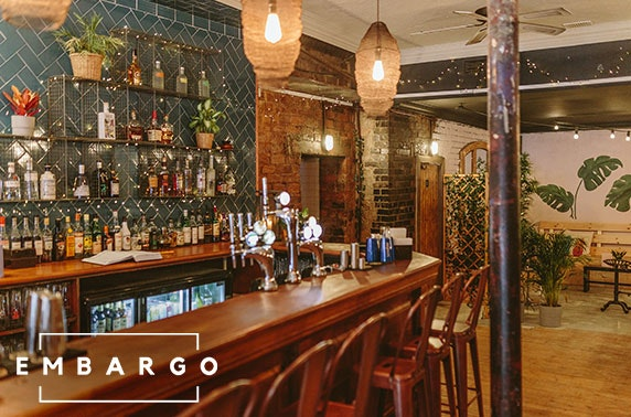 Newly-opened Embargo cocktail masterclass & dining
