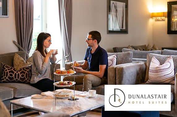 5* Dunalastair Hotel Suites afternoon tea