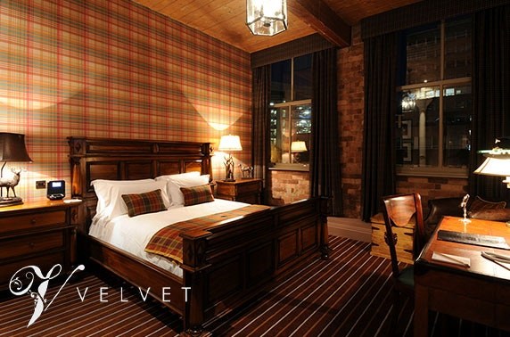 Manchester boutique hotel stay