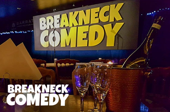 Breakneck Comedy Club tickets - from under £1pp