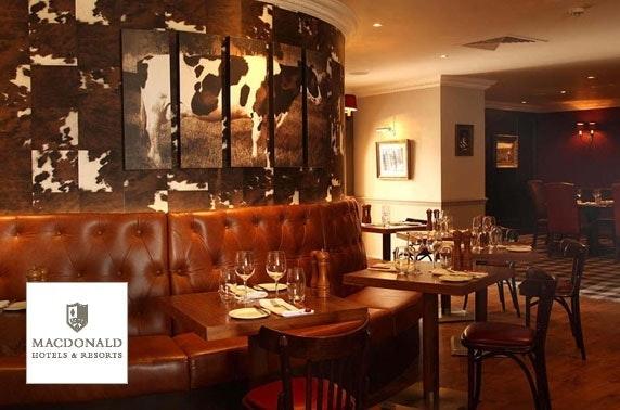 Valentine's Michael Bublé tribute, 4* Macdonald Inchyra Hotel & Spa