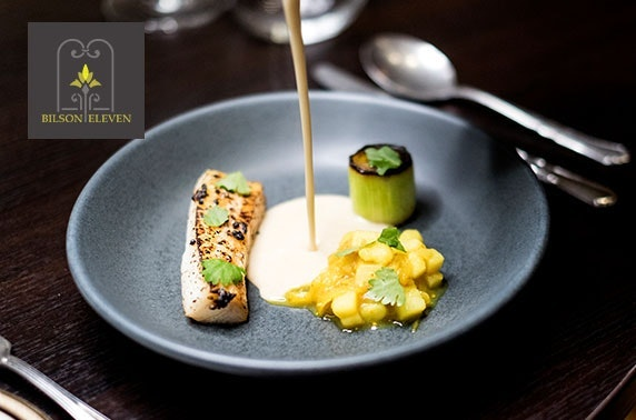 Michelin-recommended Bilson Eleven private 8 course dining