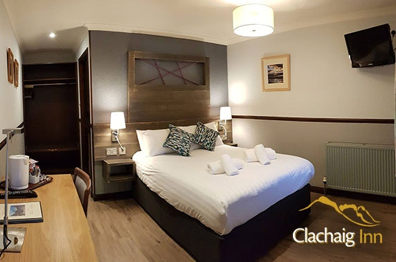 Award-winning Glencoe stay - from £59