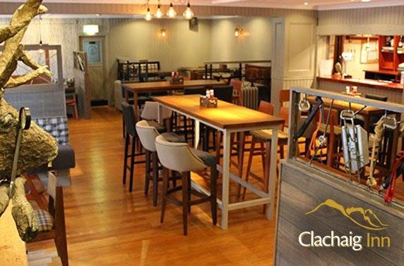 Award-winning Clachaig Inn, Glencoe