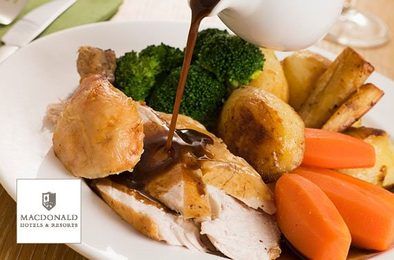 AA Rosette Sunday lunch, 4* Macdonald Inchyra Hotel & Spa
