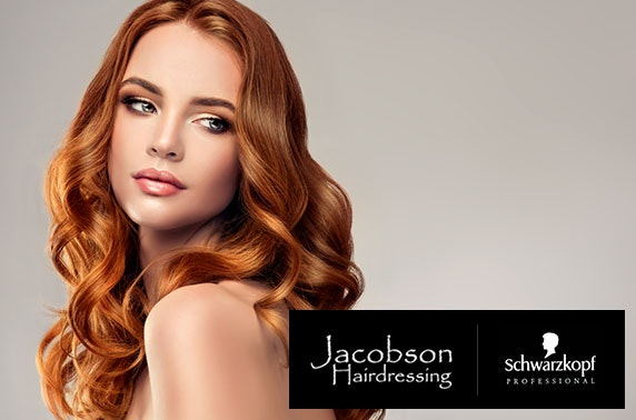 Hair treatments at Jacobson Hair, City Centre