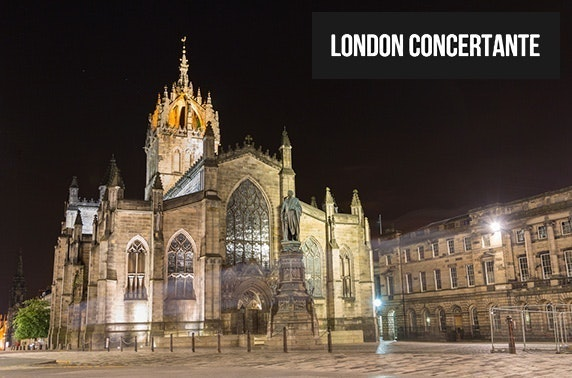Vivaldi Four Seasons by candlelight at St Giles' Cathedral