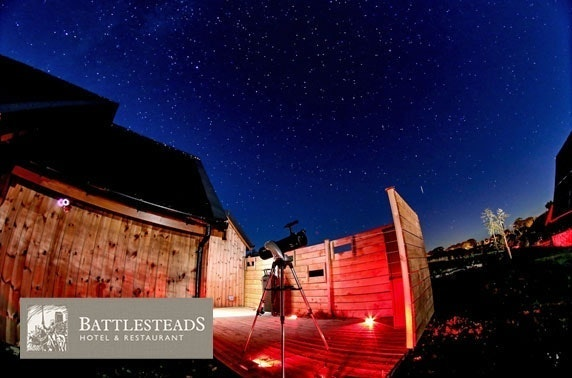 5 courses & observatory experience at Battlesteads