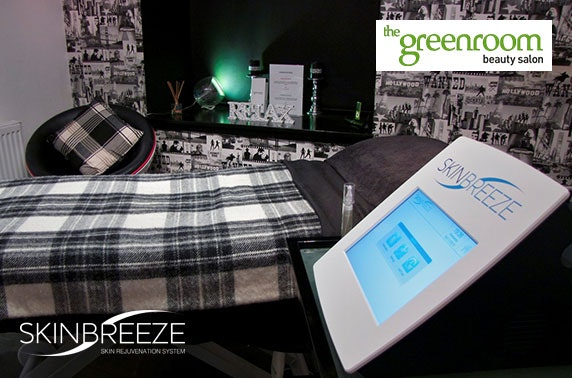Greenroom Beauty Salon microdermabrasion facial