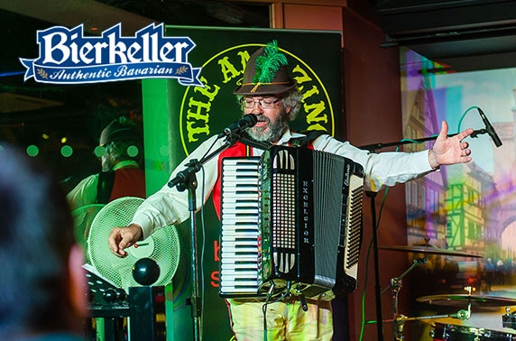 Bierkeller's Oompah Band Show with food & drinks