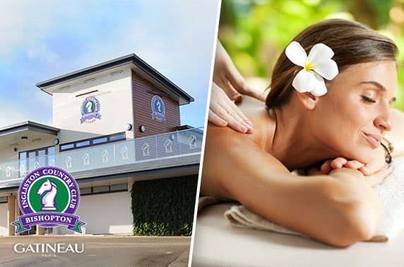 Ingliston Country Club award winning spa treatments