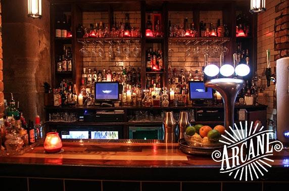 Arcane cocktails, City Centre