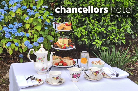 Chancellors Hotel afternoon tea