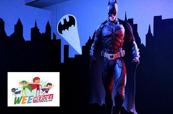 Superhero laser tag, Falkirk