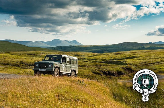 Scenic Land Rover tour with Highland Exploration