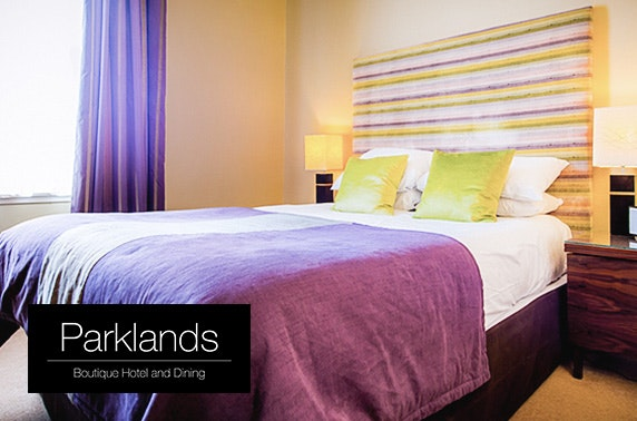4* Parklands Hotel stay, winner of Best Scottish City