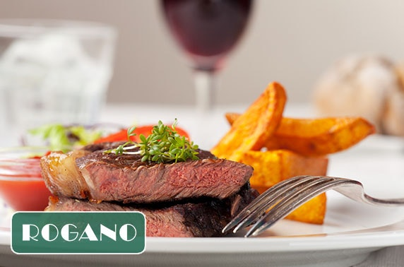 Café Rogano steak & wine