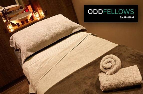 Oddfellows On the Park spa treatments