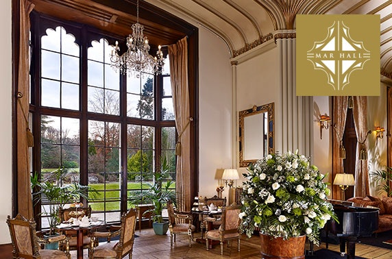 5* Mar Hall luxury lodge stay - from £53pppn