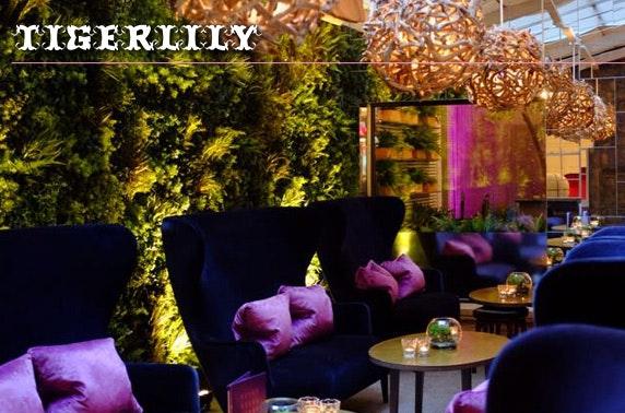 Luxury Tigerlily suite stay, Edinburgh