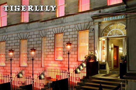 Luxury Tigerlily suite stay, Edinburgh