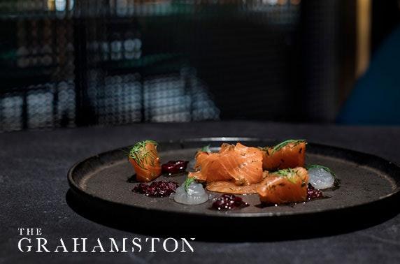 Brand new The Grahamston dining at 4* Radisson Blu