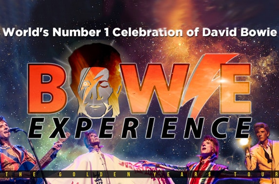 Bowie Experience at Usher Hall