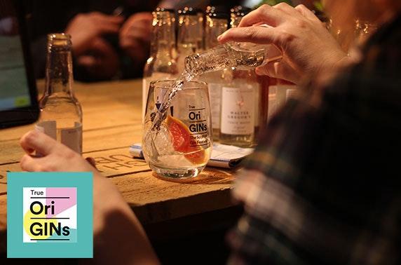 True OriGINs - The Scottish Gin Festival, Edinburgh