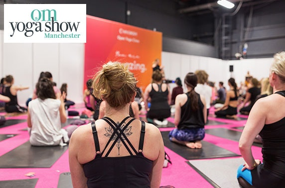 OM Yoga Show Manchester, EventCity