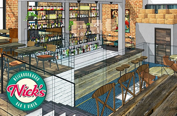 Newly-relaunched Nick's, Hyndland