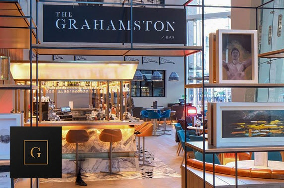Brand new The Grahamston afternoon tea, 4* Radisson Blu