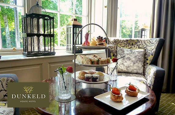 4* Dunkeld House afternoon tea & leisure access