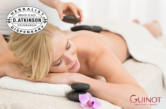 Information luxury facial massage