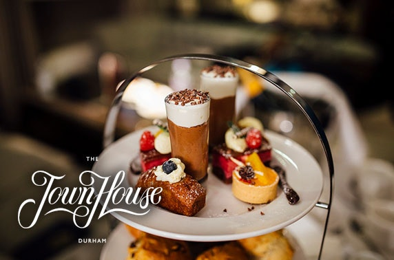 Prosecco afternoon tea at 5* Town House, Durham
