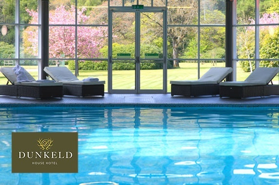 4* Dunkeld House Hotel spa day