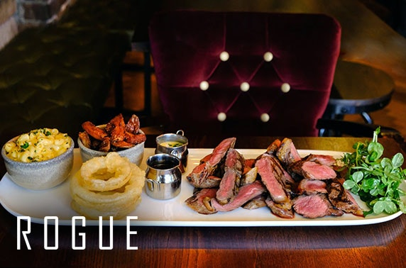 Luxury steak sharing dish at Rogue, St Andrews