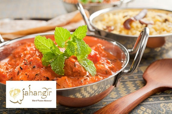 Indian dining at Jahangir