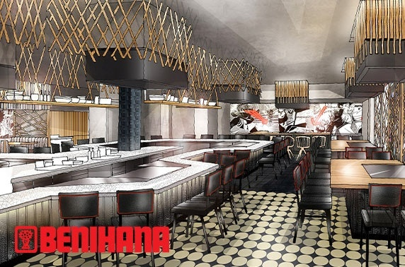 Brand-new Benihana teppanyaki, City Centre