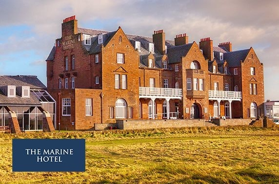 4* Marine Troon Hotel afternoon tea & leisure access