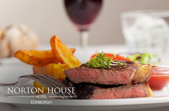 4* Norton House Hotel stay, nr Edinburgh