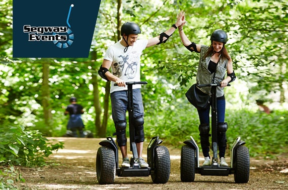 Segway experience, Tatton Park