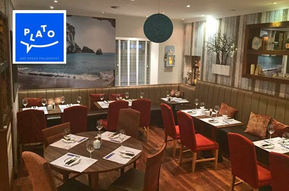 Greek dining at Plato, Bothwell