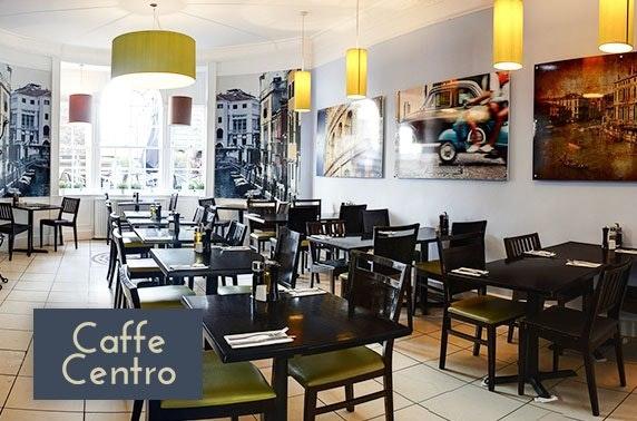 Italian dining at Caffe Centro, George Street