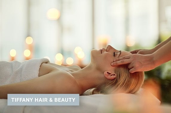 Tiffany Hair & Beauty facial, massage & nails